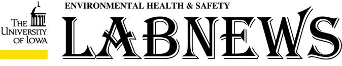 EHS Lab News Newsletter