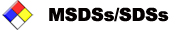 MSDSs/SDSs documentation