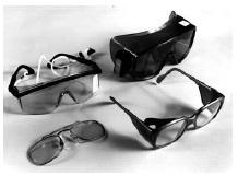 Picture of protective glasses