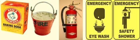 examples of emergency safety equipment