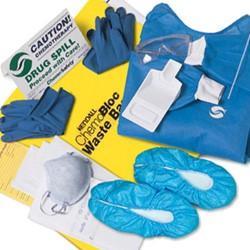 chemo spill kit instructions