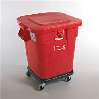 Red Bio Waste Tub