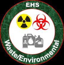 EHS Waste/Environmental logo